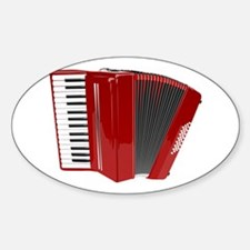 Musical Accordion Decal