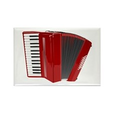 Musical Accordion Magnets