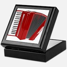 Musical Accordion Keepsake Box