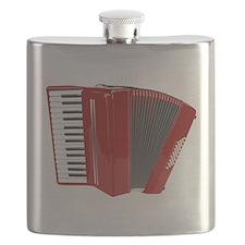 Musical Accordion Flask