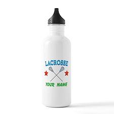 Lacrosse Personalized Star Sports Water Bottle