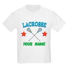 Lacrosse Personalized Star T-Shirt