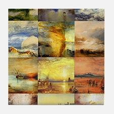 Turner Collage Tile Coaster