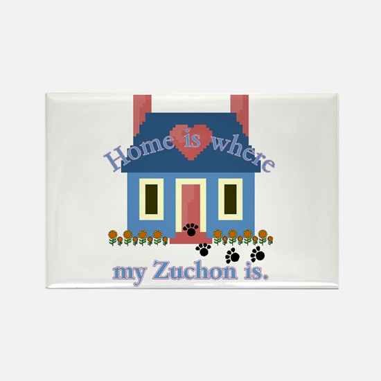 Zuchon Lover Gifts Rectangle Magnet (10 pack)