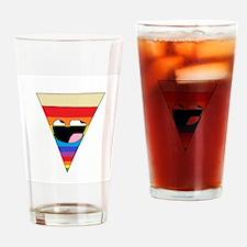 Rainbow Pizza Drinking Glass