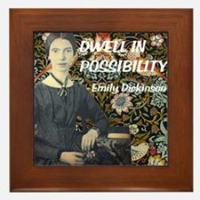 Dwell in Possibility Framed Tile