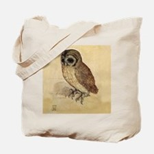 The Little Owl by Durer Tote Bag