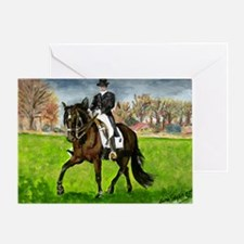 Alter Real Horse Portrait Greeting Cards