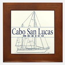 Cabo San Lucas - Framed Tile