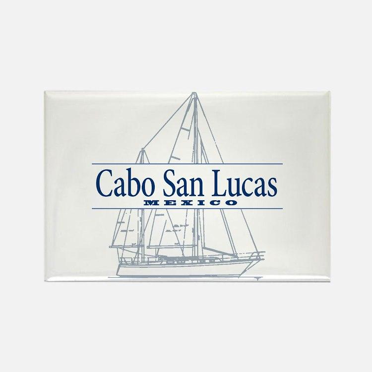 Cabo San Lucas - Rectangle Magnet