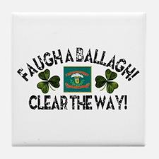 Faugh A Ballagh! Tile Coaster