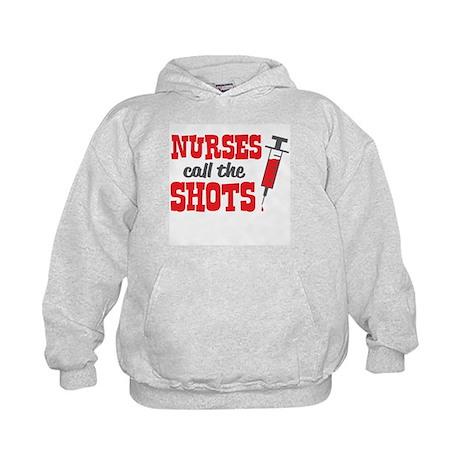 Nurses Call The Shots Hoodie