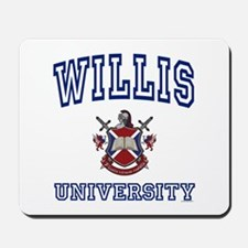 WILLIS University Mousepad