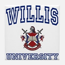 WILLIS University Tile Coaster