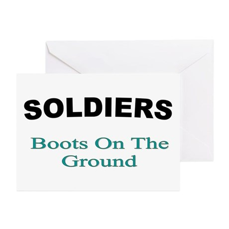 soldiers 21 Greeting Cards