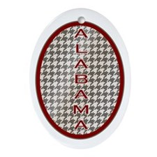 Alabama Ornament (Oval)