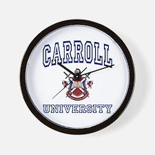 CARROLL University Wall Clock