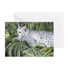Egyptian Mau Cat Greeting Cards
