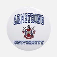 ARMSTRONG University Ornament (Round)