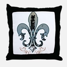 oilfield_fleur.png Throw Pillow