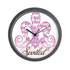spoiled.png Wall Clock