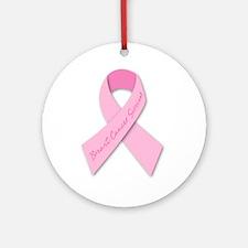 breast cancer survivor Ornament (Round)