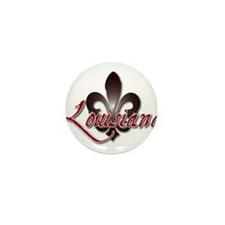 Louisiana Mini Button (10 pack)