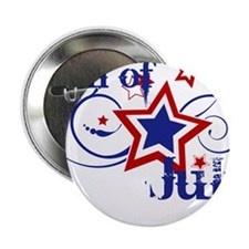 """4th of July Designs 2.25"""" Button"""