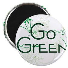 Go Green Design Magnet