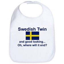 Good Lkg Swedish Twin Bib
