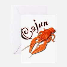 cajun_crawfish2.png Greeting Card