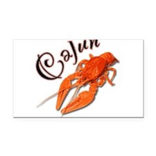 cajun_crawfish2.png Rectangle Car Magnet