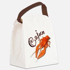 cajun_crawfish2.png Canvas Lunch Bag