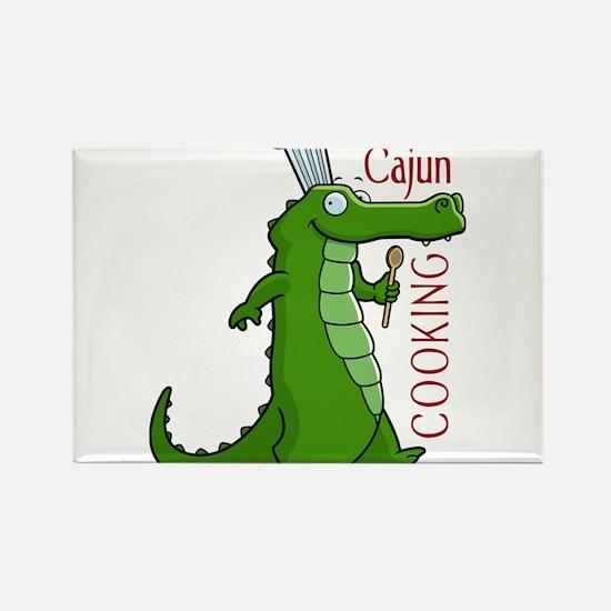cajun_cooking.png Rectangle Magnet