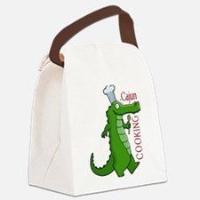 cajun_cooking.png Canvas Lunch Bag