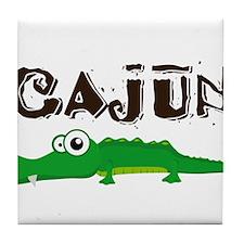 Cajun_gator.png Tile Coaster