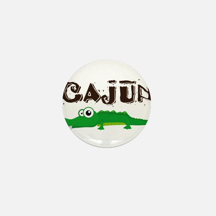 Cajun_gator.png Mini Button
