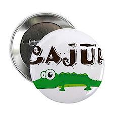 """Cajun_gator.png 2.25"""" Button"""