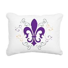 fleur_MG_swirl.png Rectangular Canvas Pillow
