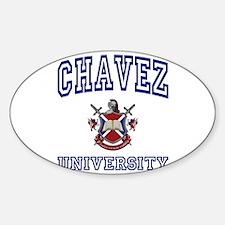 CHAVEZ University Oval Decal