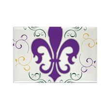 fleur_MG_swirl.png Rectangle Magnet (10 pack)