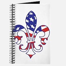 USA FLEUR DE LIS Journal