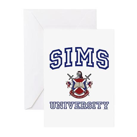 SIMS University Greeting Cards (Pk of 10)