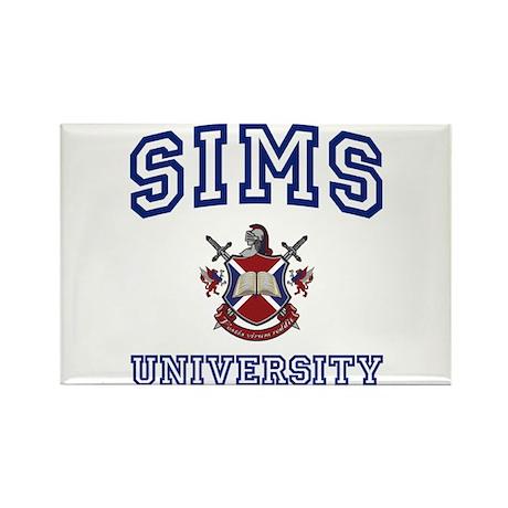 SIMS University Rectangle Magnet