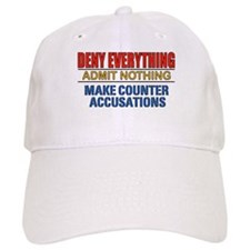 DENY EVERYTHING Baseball Cap