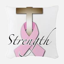 strength.png Woven Throw Pillow