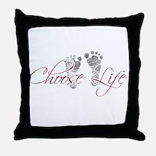 choos life.png Throw Pillow