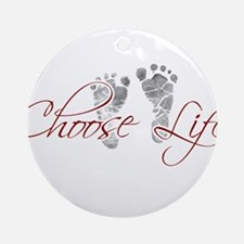 choos life.png Ornament (Round)
