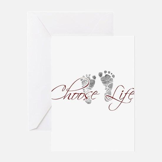 choos life.png Greeting Card