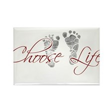choos life.png Rectangle Magnet
